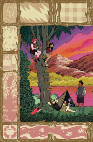 Lumberjanes #50 (Subscription Fish Cover)