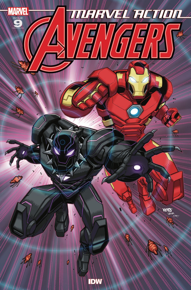 Marvel Action: Avengers #9 (Sommariva Cover)