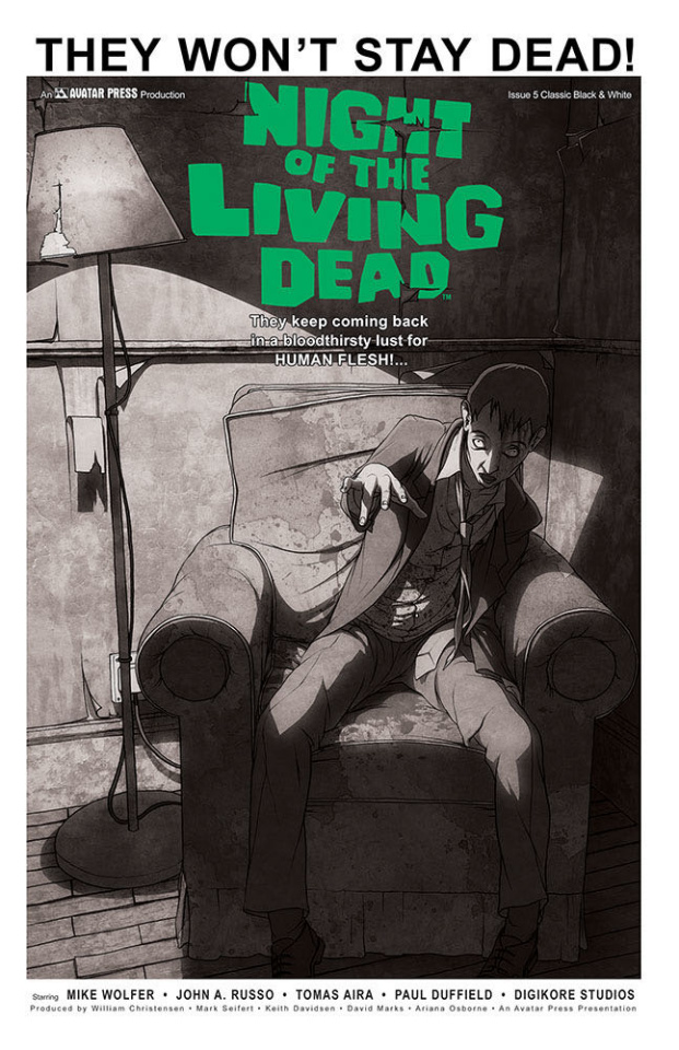 Night of the Living Dead #5 (Classic Cover)