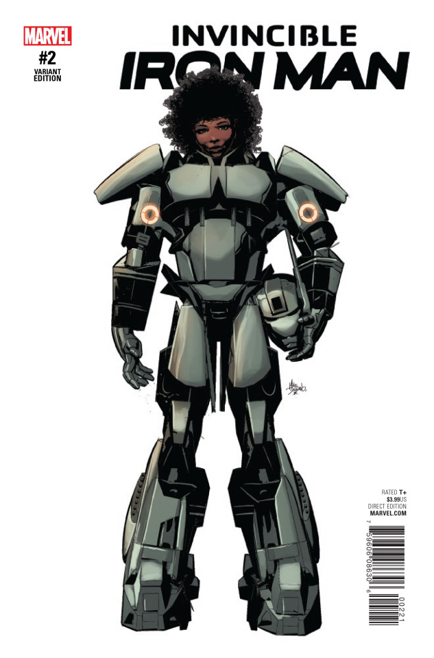 Invincible Iron Man #2 (Deodato Teaser Cover)