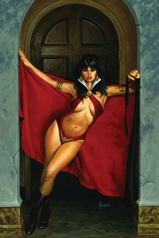 Vampirella #13 (Jusko Limited Virgin Cover)