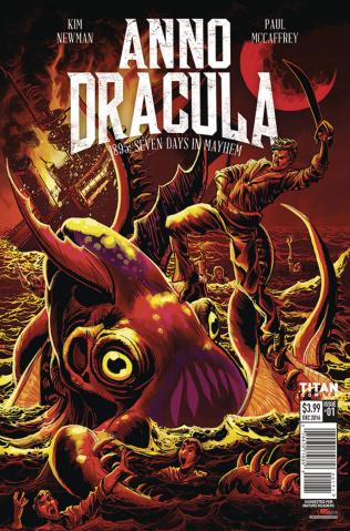 Anno Dracula #1 (Mandrake Cover)
