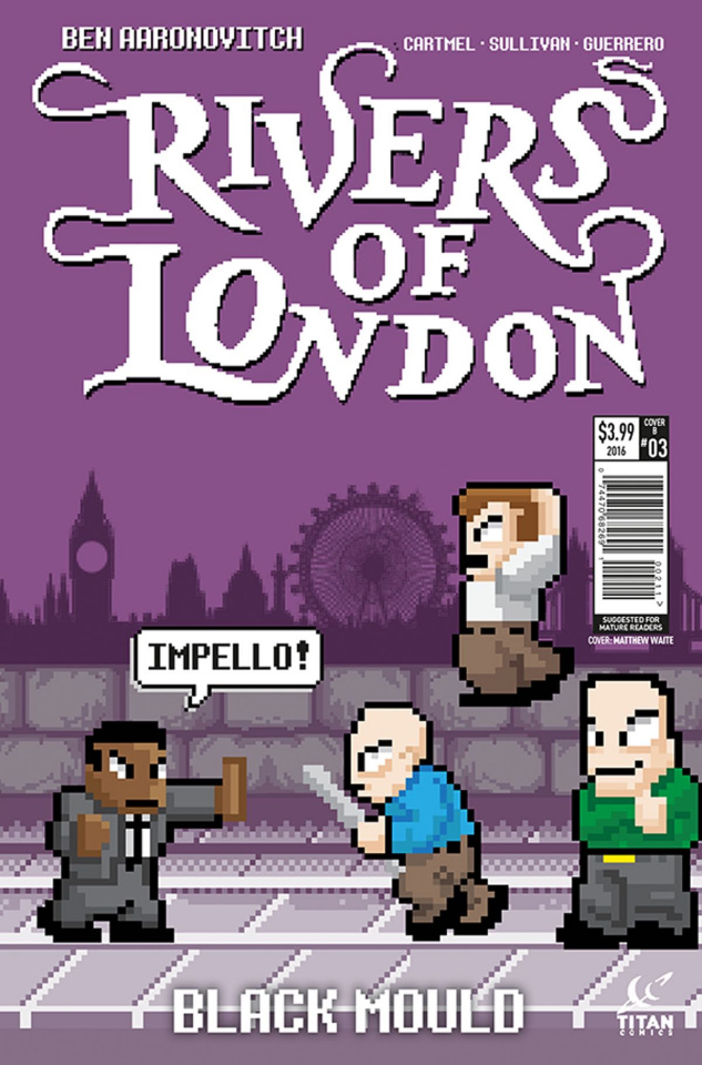 Rivers of London: Black Mould #3 (Waites Cover)