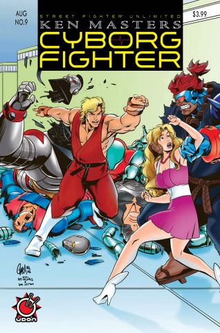 Street Fighter Unlimited #9 (10 Copy Homage Cover)