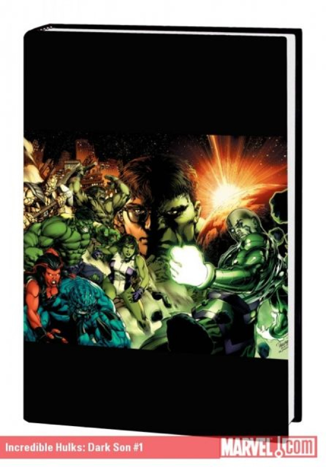 The Incredible Hulks: Dark Son Premiere Hardcover