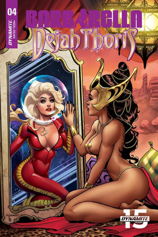 Barbarella / Dejah Thoris #4 (10 Copy Sanapo Seduction Cover)