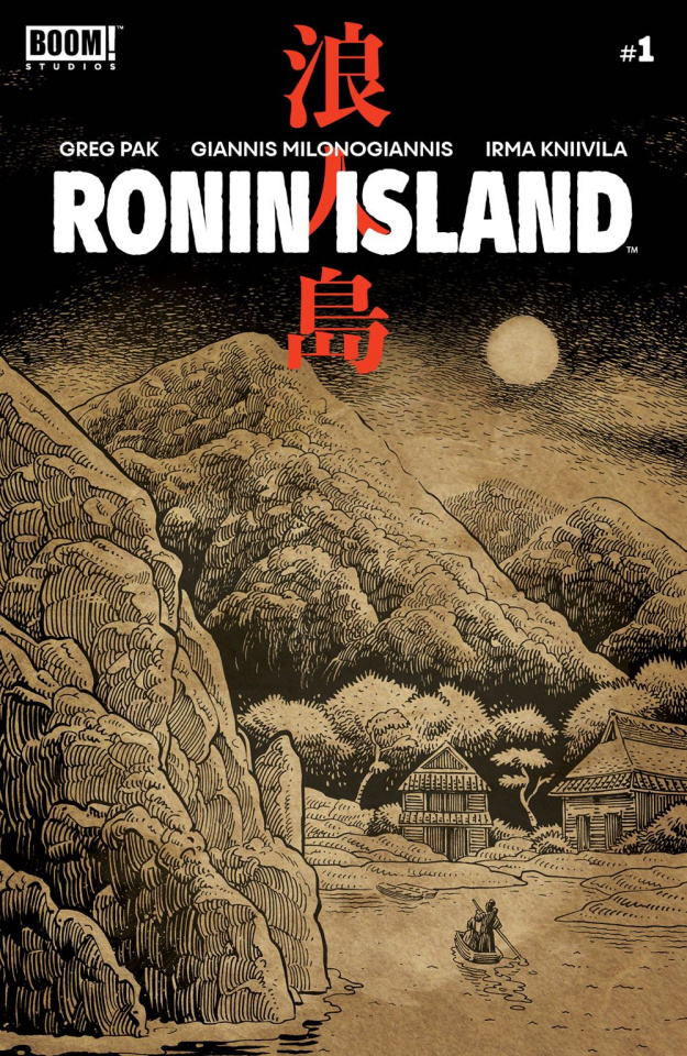 Ronin Island #1 (Preorder Young Cover)