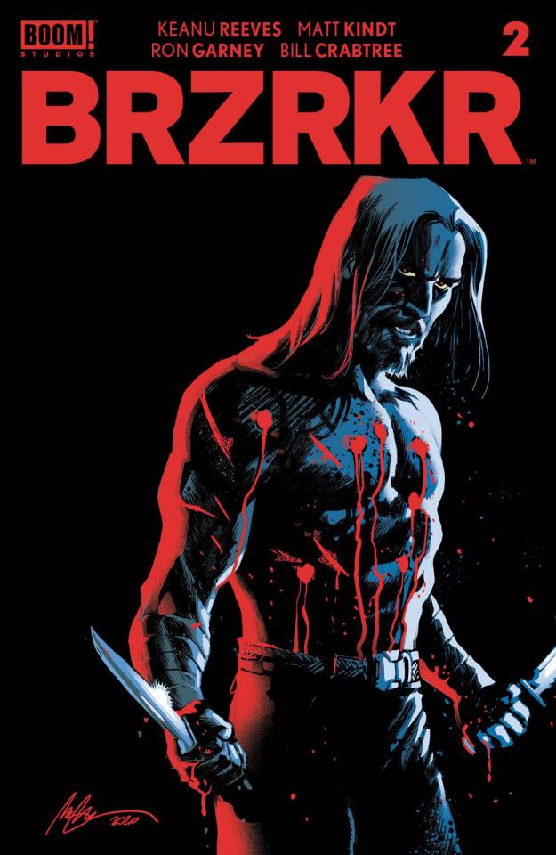 BRZRKR #2 (Albuquerque Foil Cover)