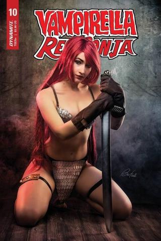 Vampirella / Red Sonja #10 (Bloom Cosplay Cover)