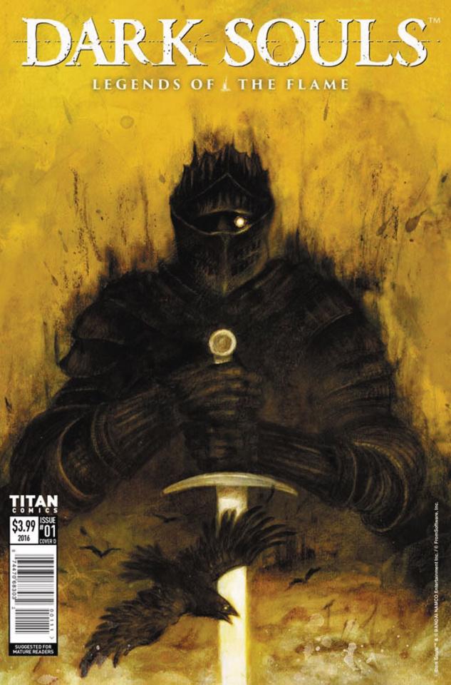 Dark Souls: Legends of the Flame #1 (Heidersdorf Cover)