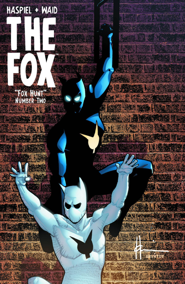 The Fox #2 (Father & Son Chaykin Cover)