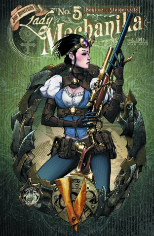 Lady Mechanika #5 (10 Copy Benitez Cover)