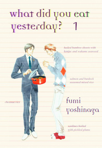 What Did You Eat Yesterday? Vol. 1