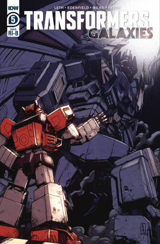 The Transformers: Galaxies #5 (25 Copy Zama Cover)