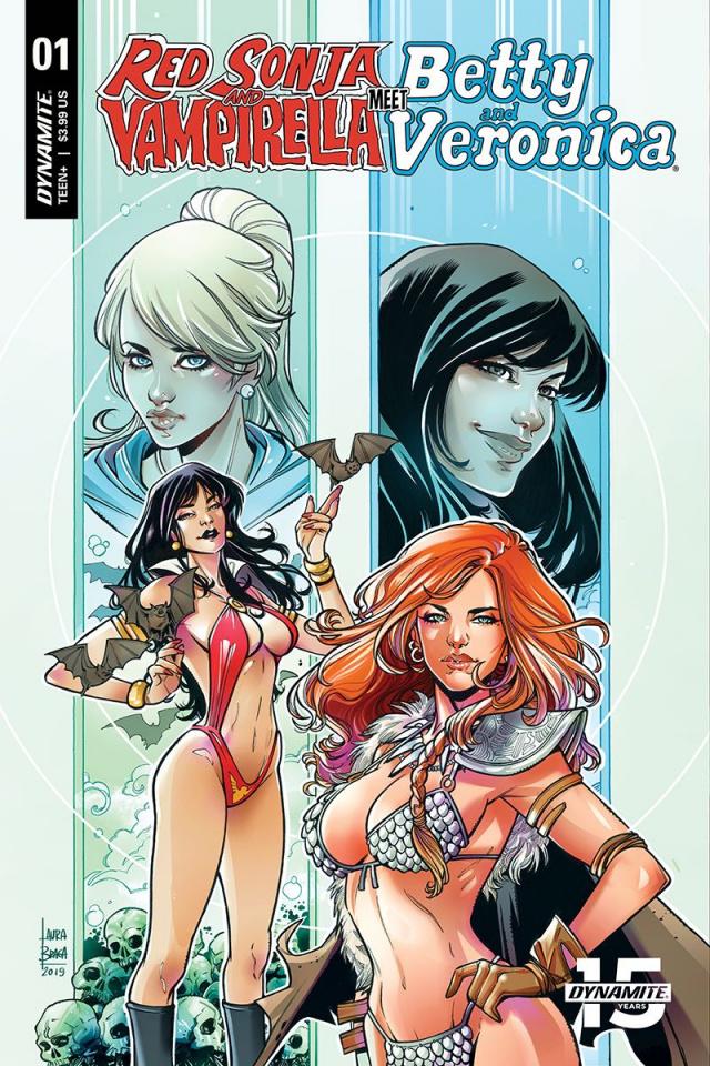 Red Sonja and Vampirella Meet Betty and Veronica #1 (Braga Cover)