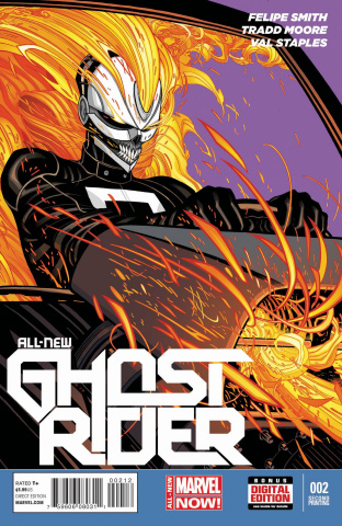 All-New Ghost Rider #2 (2nd Printing)