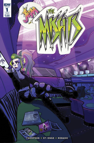 Jem and The Misfits #1 (Subscription Cover)