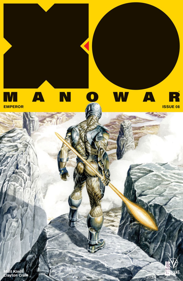 X-O Manowar #8 (50 Copy Icon Jones Cover)