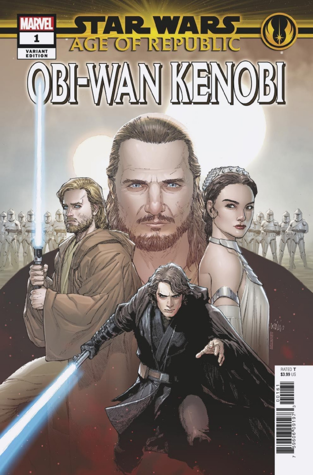 Star Wars: Age of Republic - Obi-Wan Kenobi #1 (Yu Heroes Cover)