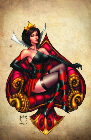 Grimm Fairy Tales: Wonderland #25 (Benitez Cover)