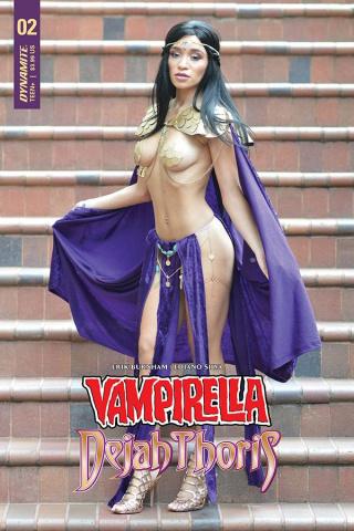 Vampirella / Dejah Thoris #2 (Dejah Thoris Cosplay Cover)