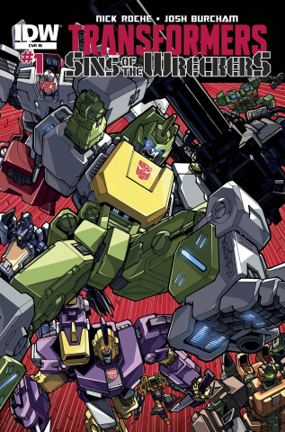 The Transformers: Sins of the Wreckers #1 (10 Copy Cover)