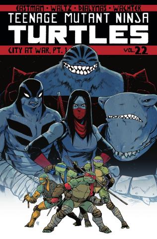 Teenage Mutant Ninja Turtles Vol. 22: City At War, Part 1
