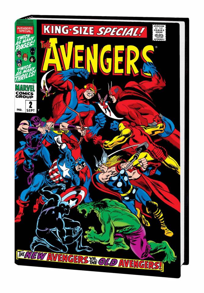 Avengers Vol. 2 (Buscema Cover)