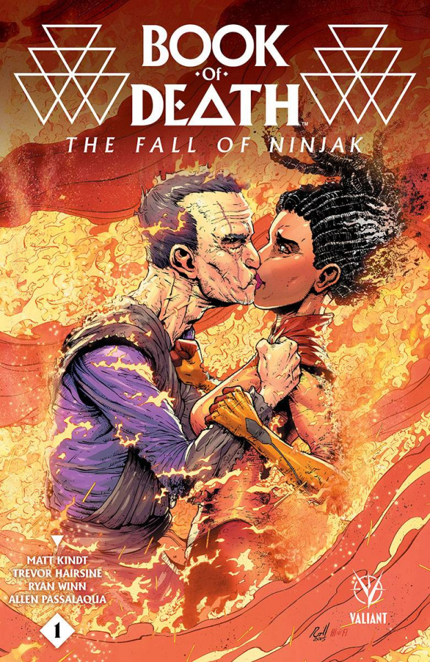 Book of Death: The Fall of Ninjak #1 (10 Copy Gill Cover)