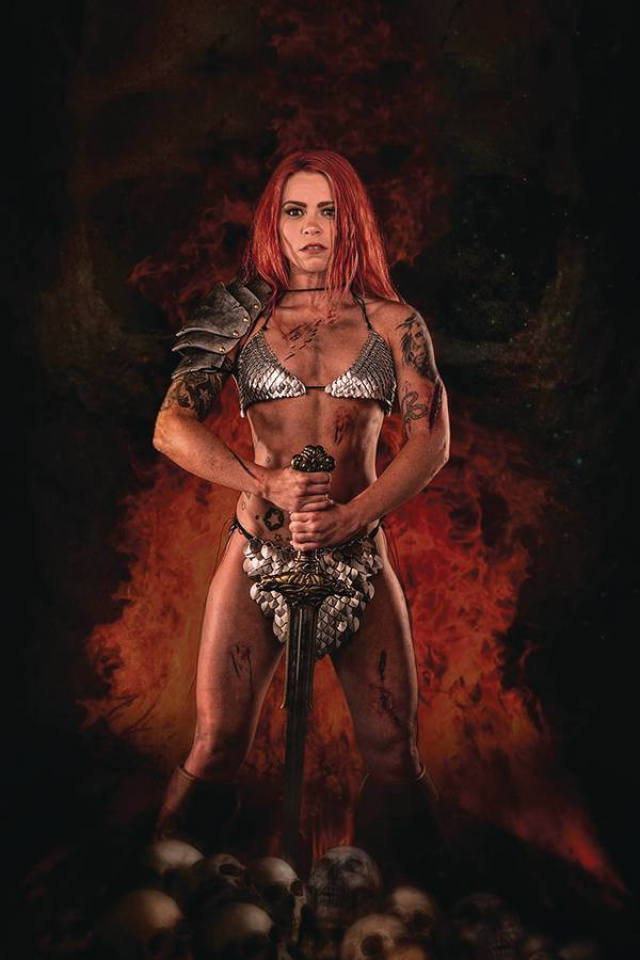 Red Sonja: The Price of Blood #1 (20 Copy Cosplay Virgin Cover)