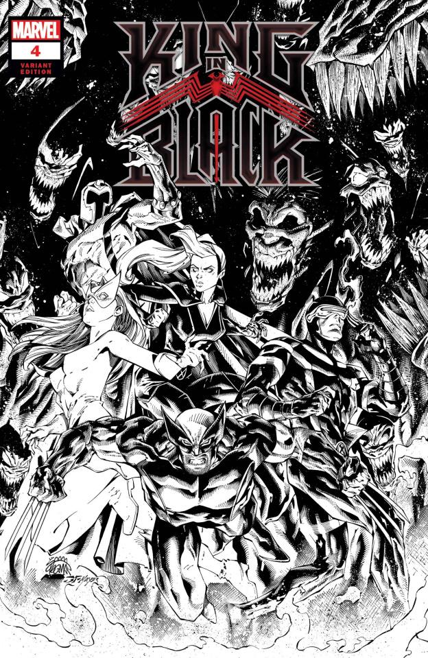 King in Black #4 (Stegman Sketch Cover)
