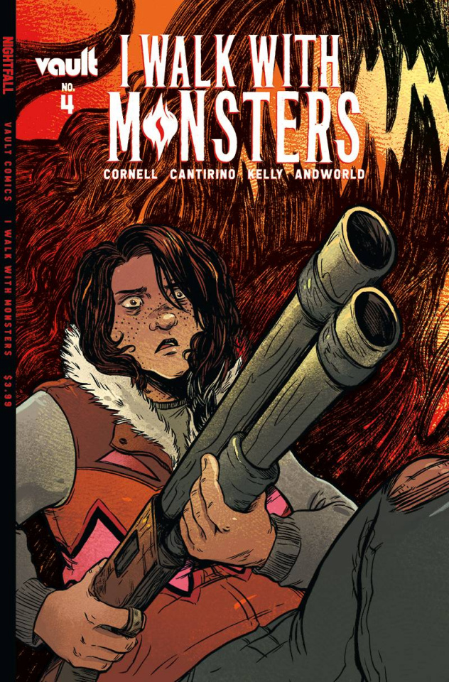 I Walk With Monsters #4 (Cantirino Cover)