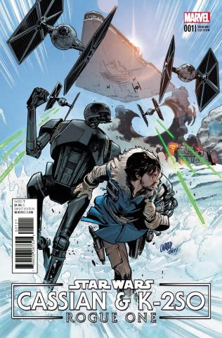 Star Wars: Rogue One - Cassian & K-2SO #1 (Larraz Cover)