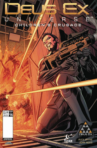 Deus Ex #5 (Cliquet Cover)