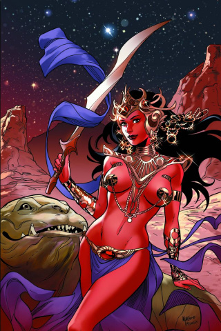 John Carter: Warlord of Mars #13 (30 Copy Lupacchino Cover)