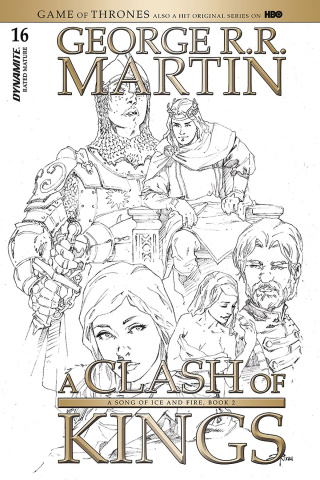 A Game of Thrones: A Clash of Kings #16 (20 Copy Rubi B&W Cover)