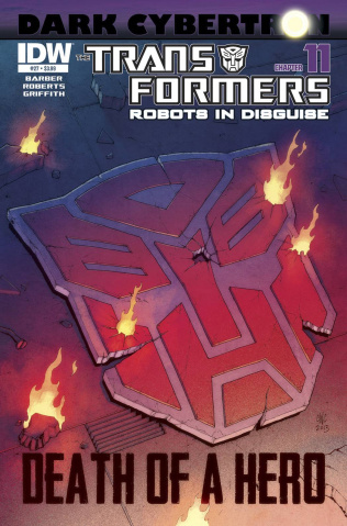 The Transformers: Robots in Disguise #27: Dark Cybertron, Part 11