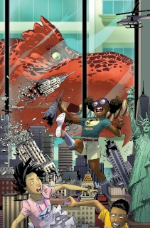 Moon Girl and Devil Dinosaur #8