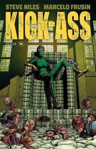 Kick-Ass #14 (Burnham Cover)