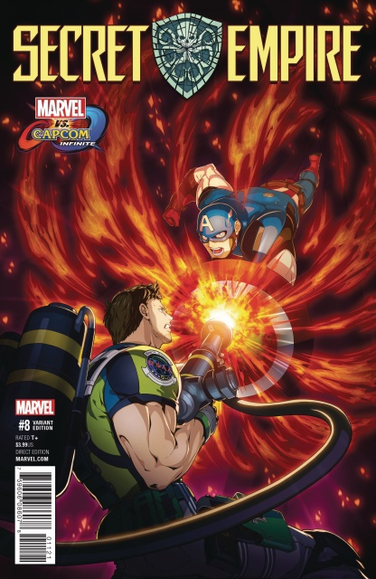Secret Empire #8 (Mizuno Marvel vs. Capcom Cover)