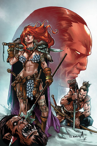 Red Sonja: Birth of the She-Devil #4 (10 Copy Davila Virgin Cover)
