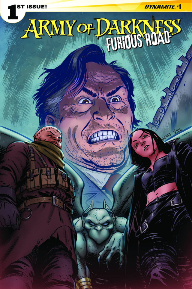 Army of Darkness: Furious Road #1 (Crook Cover)