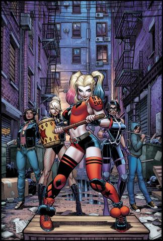 Harley Quinn and The Birds of Prey #2 (Arthur Adams Cover)