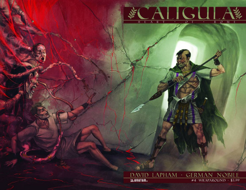 Caligula: Heart of Rome #4 (Wrap Cover)