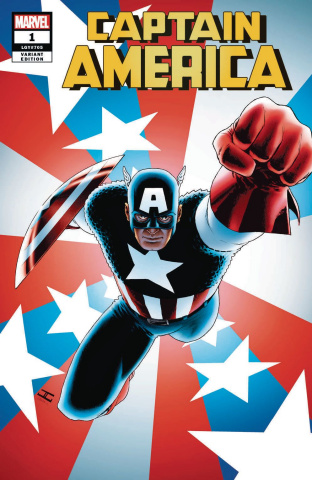 Captain America #1 (Cassaday Cover)