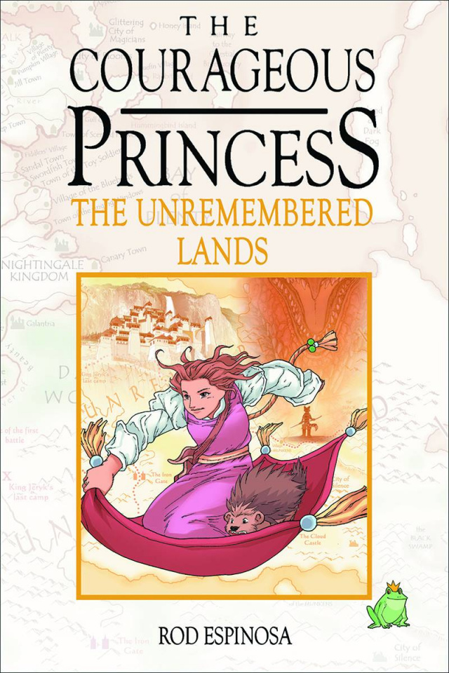 The Courageous Princess Vol. 2: Unremembered Lands