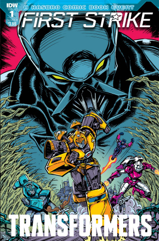 The Transformers: First Strike #1 (Guidi Cover)