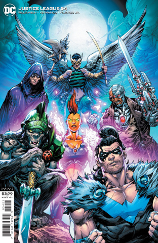 Justice League #54 (Howard Porter Cover)