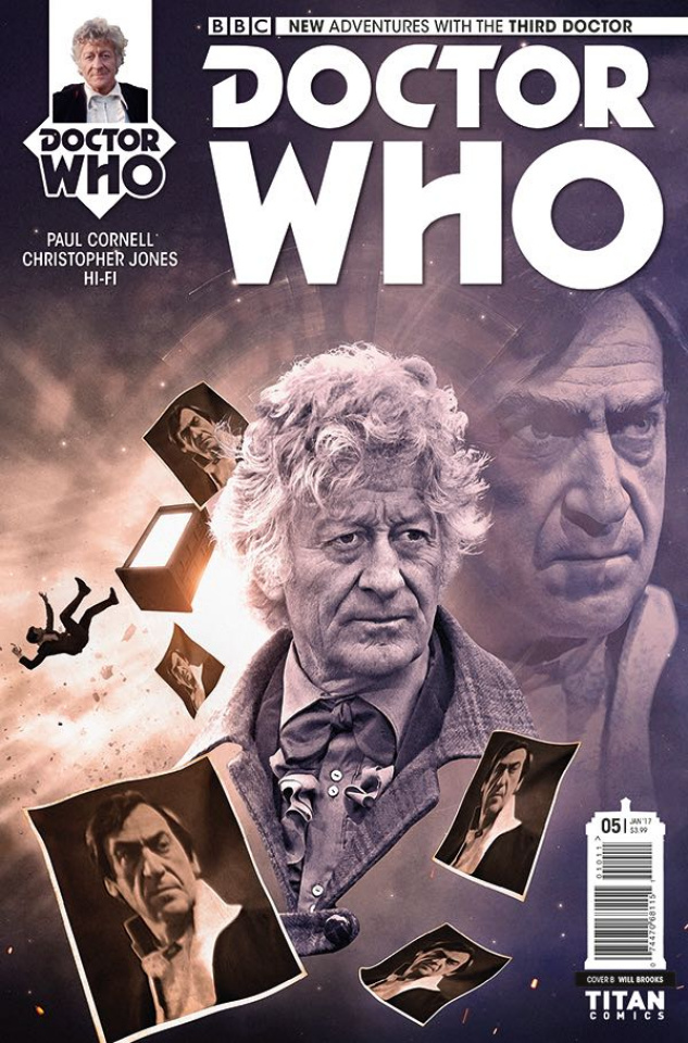 Doctor Who: New Adventures with the Third Doctor #5 (Photo Cover)