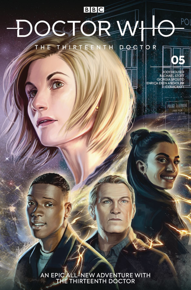 Doctor Who: The Thirteenth Doctor #5 (Ianniciello Cover)